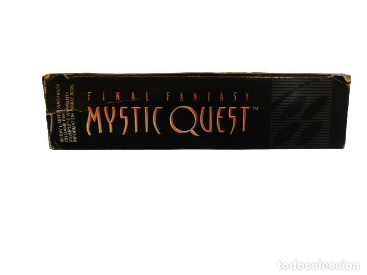 Videojuegos y Consolas: FINAL FANTASY MYSTIC QUEST COMPLETO SNES SUPER NINTENDO USA NTSC - Foto 10 - 232813485