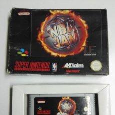 Videojogos e Consolas: SUPER NINTENDO, NBA JAM. Lote 236598735