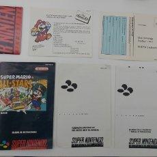 Videojuegos y Consolas: DOCUMENTACIÓN SUPER NINTENDO. Lote 236645780