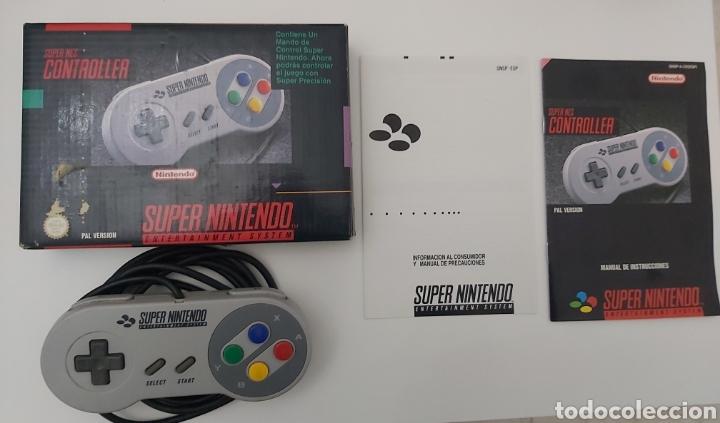 MANDO PAD SUPER NINTENDO ESP (Juguetes - Videojuegos y Consolas - Nintendo - SuperNintendo)