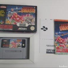 Videojuegos y Consolas: SUPER SMASH TV SUPER NINTENDO PAL ESP. Lote 236722470