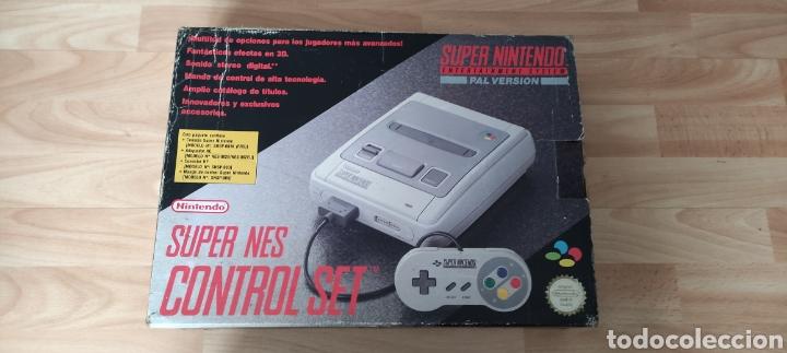 CONSOLA SUPER NINTENDO CON CAJA (Juguetes - Videojuegos y Consolas - Nintendo - SuperNintendo)
