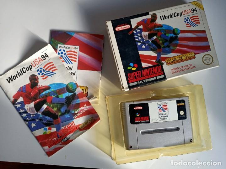 WORLD CUP USA 94 SNES (Juguetes - Videojuegos y Consolas - Nintendo - SuperNintendo)