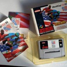 Videojuegos y Consolas: WORLD CUP USA 94 SNES. Lote 236915295