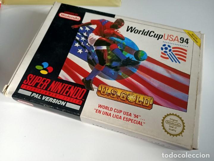 Videojuegos y Consolas: World Cup USA 94 SNES - Foto 2 - 236915295