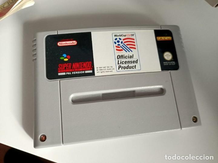 Videojuegos y Consolas: World Cup USA 94 SNES - Foto 3 - 236915295