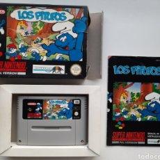 Videojuegos y Consolas: LOS PITUFOS SUPER NINTENDO SNES. Lote 236934155