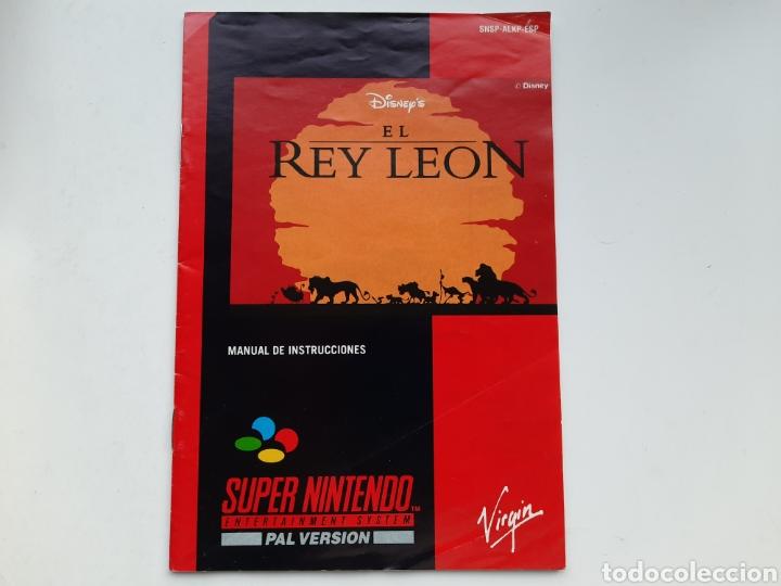 Videojuegos y Consolas: El Rey Leon SUPER NINTENDO - Foto 2 - 236934390