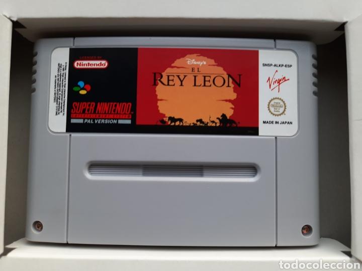 Videojuegos y Consolas: El Rey Leon SUPER NINTENDO - Foto 4 - 236934390