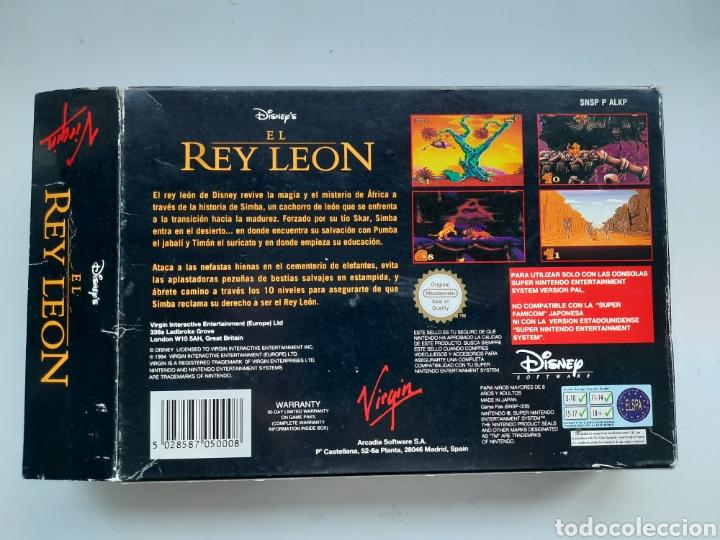 Videojuegos y Consolas: El Rey Leon SUPER NINTENDO - Foto 9 - 236934390
