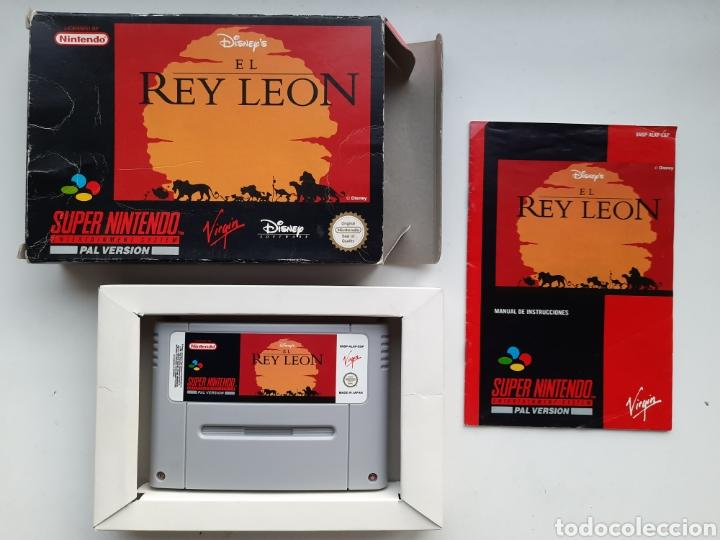 EL REY LEON SUPER NINTENDO (Juguetes - Videojuegos y Consolas - Nintendo - SuperNintendo)