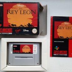 Videojuegos y Consolas: EL REY LEON SUPER NINTENDO. Lote 236934390