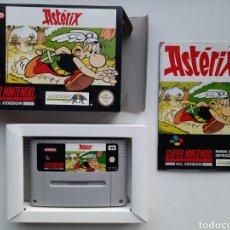Videojuegos y Consolas: ASTERIX SUPER NINTENDO SNES. Lote 236934655
