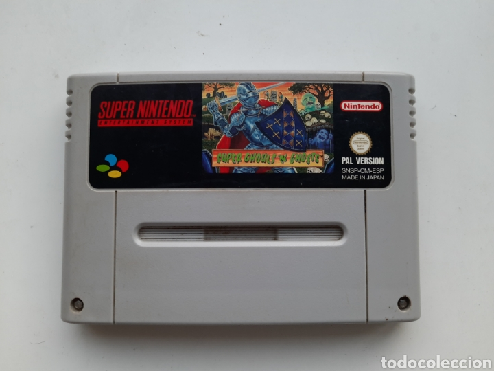SUPER GHOULS'N GHOSTS SUPER NINTENDO (Juguetes - Videojuegos y Consolas - Nintendo - SuperNintendo)