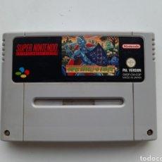 Videojuegos y Consolas: SUPER GHOULS'N GHOSTS SUPER NINTENDO. Lote 236935135