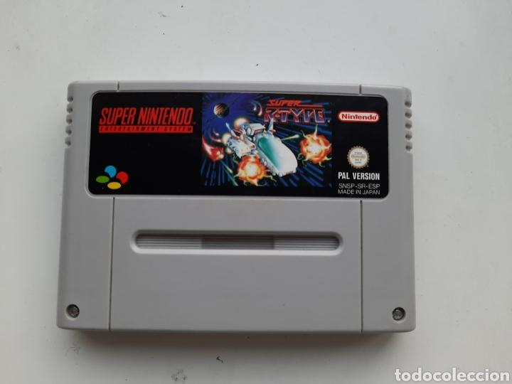 SUPER R-TYPE SUPER NINTENDO SNES (Juguetes - Videojuegos y Consolas - Nintendo - SuperNintendo)
