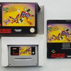 Videojuegos y Consolas: AAAHH!!! REAL MONSTERS COMPLETO SUPER NINTENDO SNES. Lote 238055895