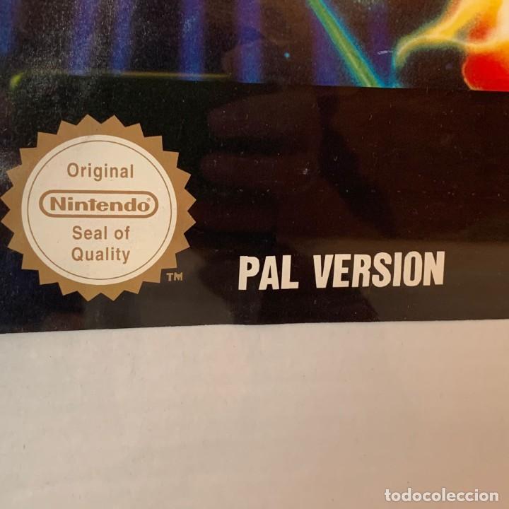 Videojuegos y Consolas: ANTIGUO PÓSTER SUPER R-TYPE SUPER NINTENDO PROMOCIONAL DE MATUTANO AÑOS 90 - 40 X60 CM - Foto 2 - 238555610