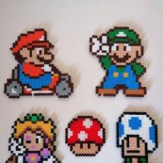 Videojuegos y Consolas: LOTE 5 FIGURAS MARIO BROS DE NINTENDO (NES, SNES, GAME BOY). Lote 241076430