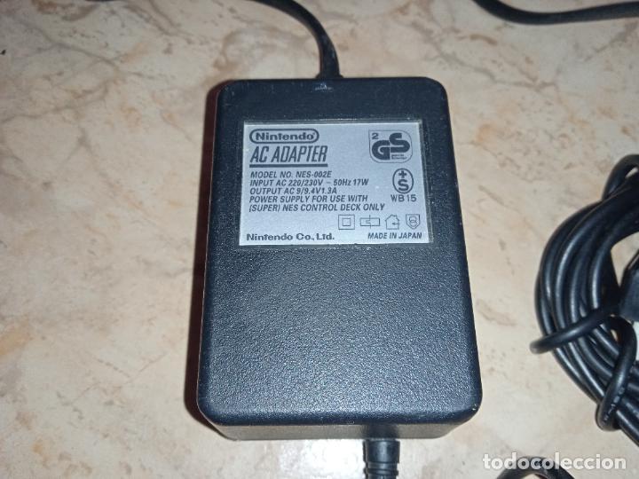 Videojuegos y Consolas: Adaptador Transformador de Corriente Consola NINTENDO NES y SUPER NINTENDO Original - Foto 2 - 241780675