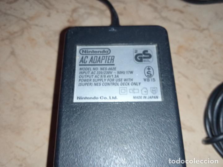 Videojuegos y Consolas: Adaptador Transformador de Corriente Consola NINTENDO NES y SUPER NINTENDO Original - Foto 3 - 241780675