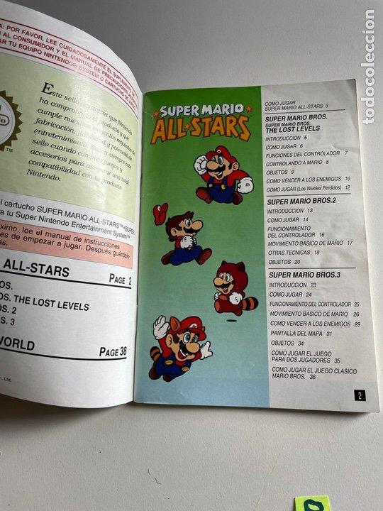 Videojuegos y Consolas: Manual de instrucciones súper Mario - Foto 3 - 242002570