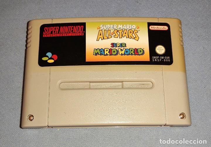 SUPER NINTENDO SUPER MARIO WORLD ALL STARS (Juguetes - Videojuegos y Consolas - Nintendo - SuperNintendo)