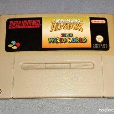 Videojuegos y Consolas: SUPER NINTENDO SUPER MARIO WORLD ALL STARS. Lote 242452785