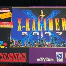 Videojuegos y Consolas: NINTENDO SNES X KALIBER 2097. Lote 243244010