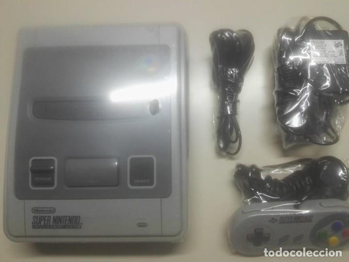 CONSOLA DE JUEGO SUPER NINTENDO + MANDO Y CABLES (Juguetes - Videojuegos y Consolas - Nintendo - SuperNintendo)