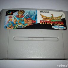 Videojuegos y Consolas: ORIGINAL GOLDEN FIGHTER HYPER VERSION SUPER FAMICOM NTSC NINTENDO SNES CAPCOM. Lote 244007615