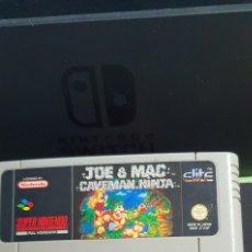 Videojuegos y Consolas: SNES JOE & MAC CAVEMAN NINJA. Lote 244184525