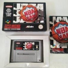 Videojuegos y Consolas: NBA JAM PARA SNES NINTENDO ORIGINAL ENTRE Y MIRE MIS OTROS JUEGOS DE OTRAS CONSOLAS RETRO.. Lote 244204885