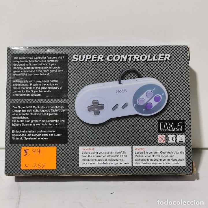 Videojuegos y Consolas: SUPER CONTROLLER FOR SUPER NINTENDO - EAXUS - NUEVO EN CAJA - Foto 2 - 244662140
