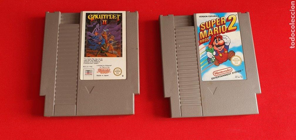 2 JUEGOS NINTENDO SUEPER MARIO 2 BROS Y GAUNTLET II (Juguetes - Videojuegos y Consolas - Nintendo - SuperNintendo)