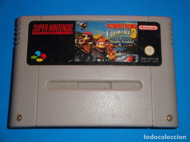 JUEGO DONKEY KONG COUNTRY 3 SUPER NINTENDO (Juguetes - Videojuegos y Consolas - Nintendo - SuperNintendo)