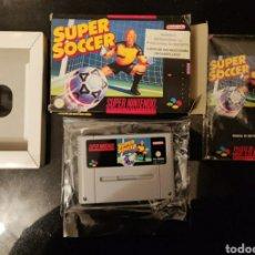 Videojuegos y Consolas: SUPER SOCCER SUPER NINTENDO ORIGINAL. Lote 244814505