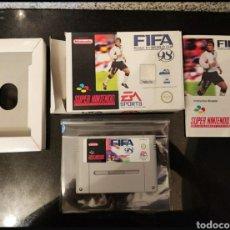 Videojuegos y Consolas: FIFA 98 SUPER NINTENDO PAL ORIGINAL. Lote 244815095