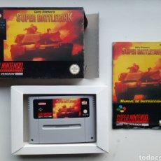 Videojuegos y Consolas: BATTLETANK COMPLETO SUPER NINTENDO SNES. Lote 244897390