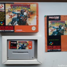 Videojuegos y Consolas: SUNSETRIDERS SUNSET RIDER COMPLETO SUPER NINTENDO SNES. Lote 244898580