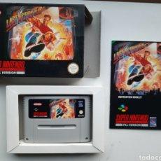 Videojuegos y Consolas: LAST ACTION COMPLETO SUPER NINTENDO SNES. Lote 244899010