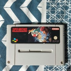 Videojuegos y Consolas: STREET FIGHTER 2 ALPHA - SNES - SUPER NINTENDO- PAL. Lote 244949405