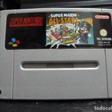 Videojuegos y Consolas: JUEGO DE SUPER NINTENDO SUPER MARIO ALL STARS. Lote 244950600