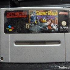 Videojuegos y Consolas: JUEGO DE SUPER NINTENDO STUNT RACE. Lote 244950980