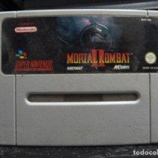 Videojuegos y Consolas: JUEGO DE SUPER NINTENDO MORTAL KOMBAT 2 II. Lote 244951195