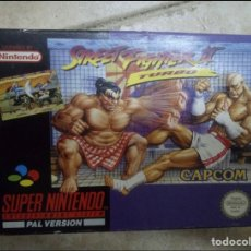 Videojuegos y Consolas: STREET FIGHTER II TURBO. Lote 244992935