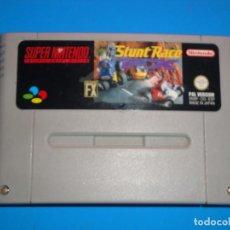 Videojuegos y Consolas: JUEGO STUNT RACE SUPER NINTENDO. Lote 245284555