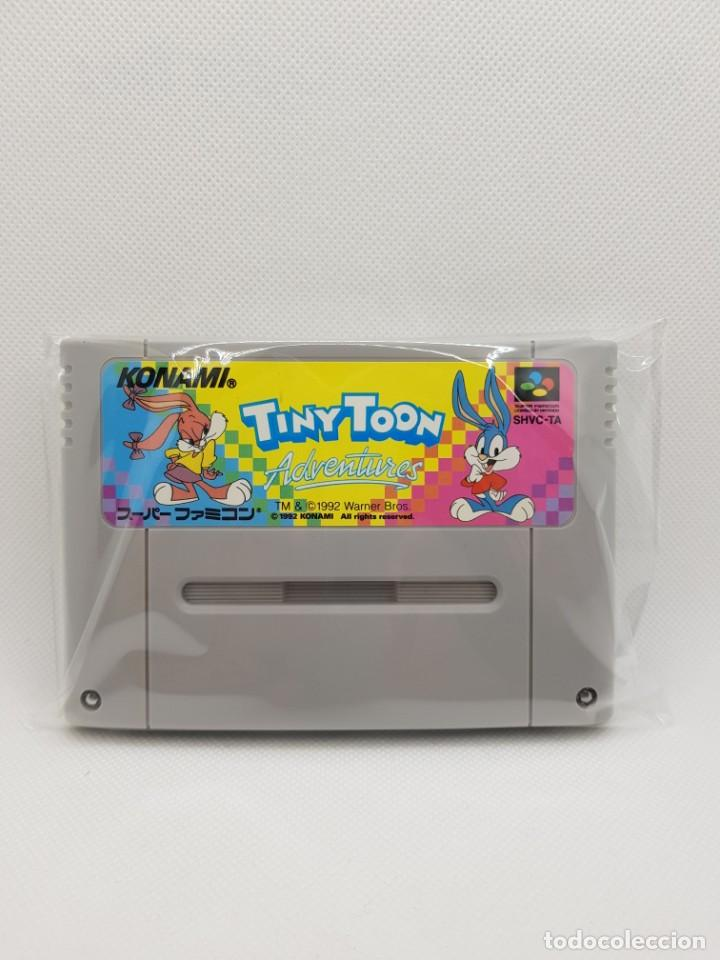 TINY TOON ADVENTURES BUSTER BUSTS LOOSE SFC SUPER FAMICOM (Juguetes - Videojuegos y Consolas - Nintendo - SuperNintendo)