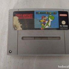 Jeux Vidéo et Consoles: SUPER MARIO WORLD SUPER NINTENDO SNES ORIGINAL PAL-ESPAÑA. Lote 245643635