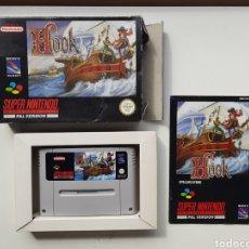 Videojuegos y Consolas: HOOK COMPLETO SUPER NINTENDO SNES. Lote 246155550